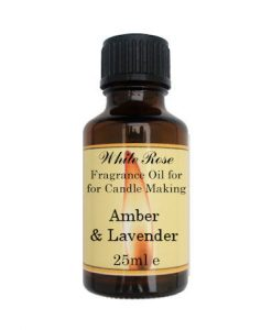 Amber & Lavender Fragrance Oil For Candle Making
