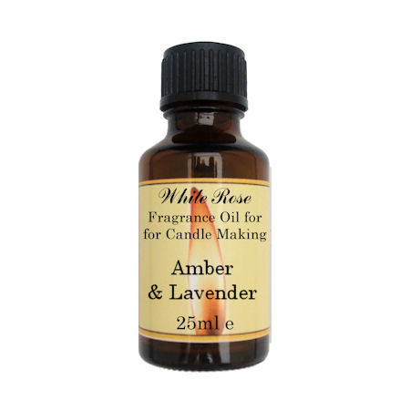 Amber & Lavender Fragrance Oil For Candle Making