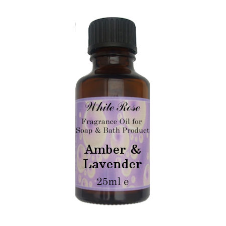 Amber & Lavender Fragrance Oil For Soap Making