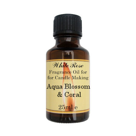 Aqua Blossom & Coral Fragrance Oil For Candle Making