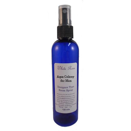 Aqua Colony for Men Designer Room Spray (Paraben Free)