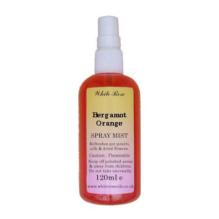 Bergamot Orange Fragrance Room Sprays (Paraben Free)