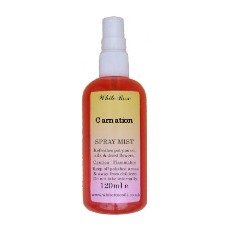 Carnation Fragrance Room Sprays (Paraben Free)