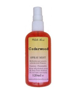 Cedarwood essential fragrance room spray