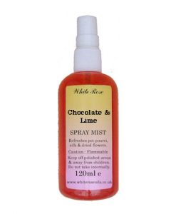 Chocolate & Lime Fragrance Room Sprays (Paraben Free)