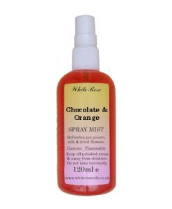 Chocolate & Orange Fragrance Room Sprays (Paraben Free)