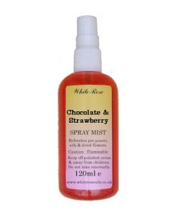Chocolate & Strawberry Fragrance Room Sprays (Paraben Free)