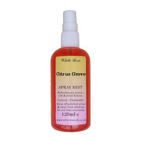 Citrus Grove Fragrance Room Sprays (Paraben Free)