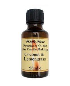 Coconut & Lemongrass Fragrance Oil For Candle Making