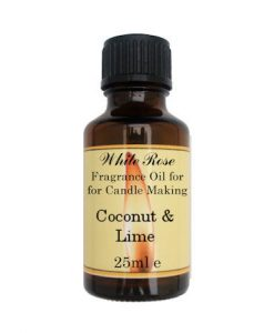 Coconut & Lime Fragrance Oil For Candle Making
