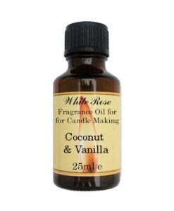 Coconut & Vanilla Fragrance Oil For Candle Making