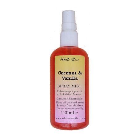 Coconut & Vanilla Fragrance Room Sprays (Paraben Free)