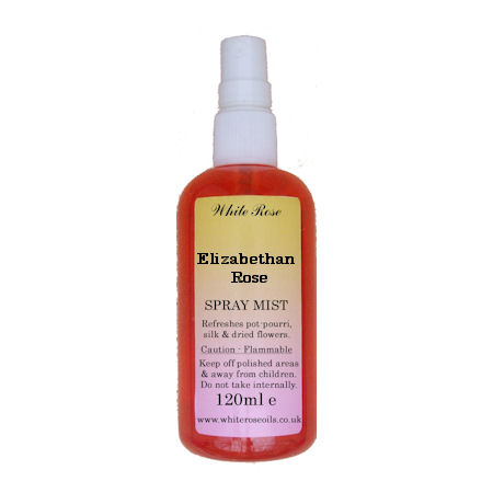 Elizabethan Rose Fragrance Room Sprays (Paraben Free)