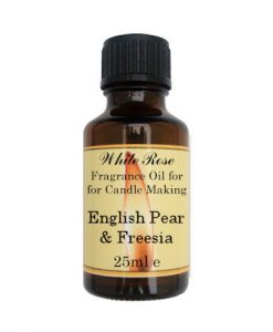 English Pear & Freesia Fragrance Oil For Candle Making