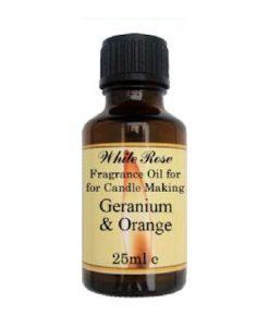 Geranium & Orange Fragrance Oil For Candle Making