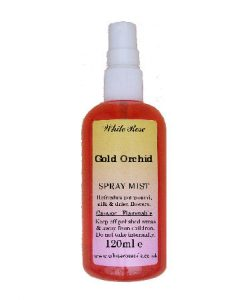 Gold Orchid Fragrance Room Sprays (Paraben Free)