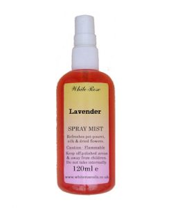 Lavender essential fragrance room spray