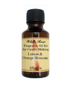 Lemon & Orange Blossom Fragrance Oil For Candle Making