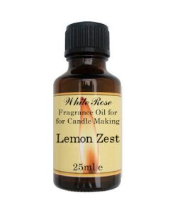 Lemon Zest Fragrance Oil For Candle Making