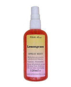 Lemongrass essential fragrance room spray