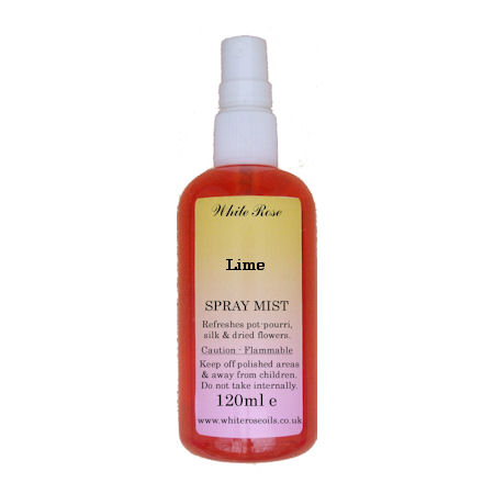 Lime essential fragrance room spray