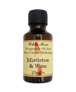 Mistletoe & Wine Fragrance Oil For Candle Making