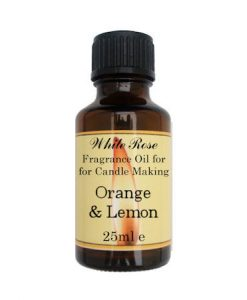 Orange & Lemon Fragrance Oil For Candle Making