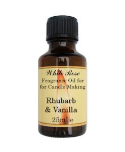 Rhubarb & Vanilla  Fragrance Oil For Candle Making