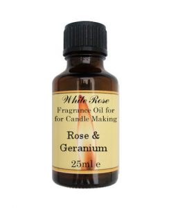Rose & Geranium Fragrance Oil For Candle Making