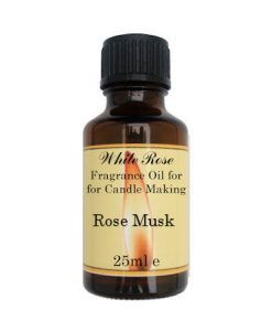 Rose Musk Fragrance Oil For Candle Making