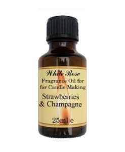 Strawberries & Champagne Fragrance Oil For Candle Making