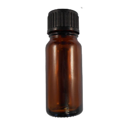 10ml oxford glass amber bottle black cap with dropper