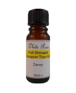 Dazey Designer Type FULL STRENGTH Fragrance Oil (Paraben Free)