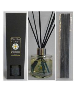 Pink Peony & Blush suede Reed Diffuser Boxed Gift Set