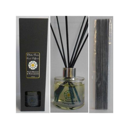 Gold Orchid Reed Diffuser Boxed Gift Set