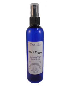 Black Poppy Designer Room Spray (Paraben Free)